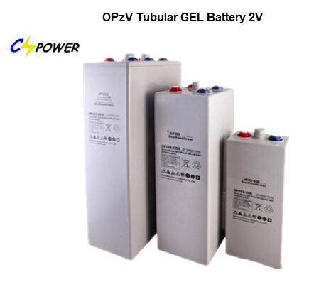 Tubular Battery Opzv2-3000 2V 3000ah Rechargeable Battery 2V 3000ah Battery Marin Batteries 2V Opzv