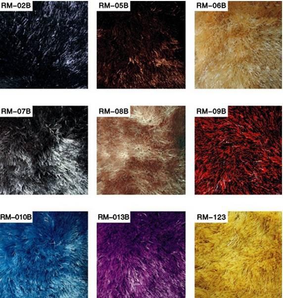 RM Series long pile soft shaggy rug