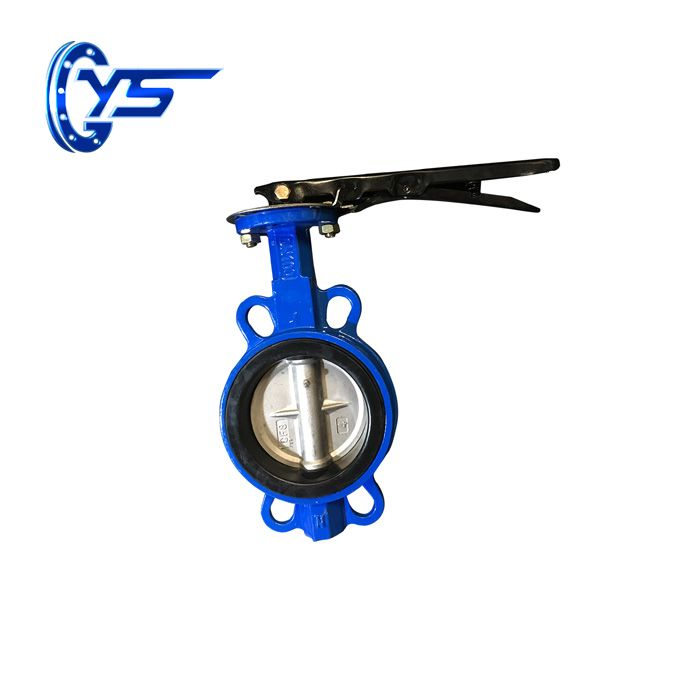 D71X-10 / 10Q / 16 / 16Q Wafer Centerline Butterfly Valve
