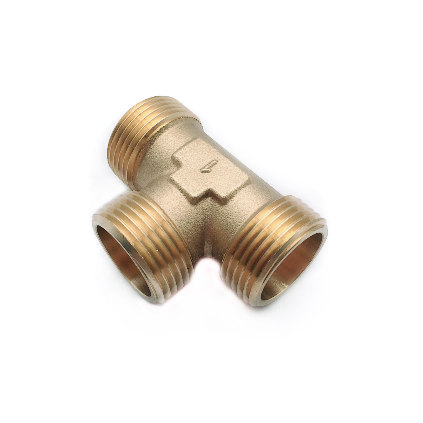 Good quality 3 way tee union brass pex fitting connecting use for water supply