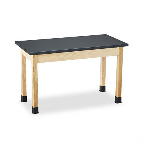 Science Lab Table w/Chem-Res High-Pressure Laminate Top: laboratory table, school furiture