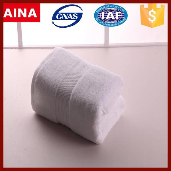 Wholesale Cheap White 16S/21S/32S 100% Cotton Bath Towel
