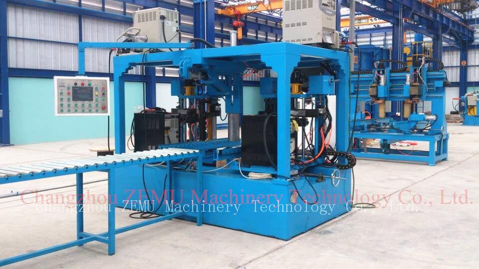 transformer corrugated tank fin forming machine
