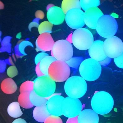 LED ball string ligths
