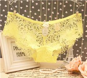 Full Lace Transparent Panties Sexy Lace Woman Panties Full Lace Thongs Underwear For Young Girl