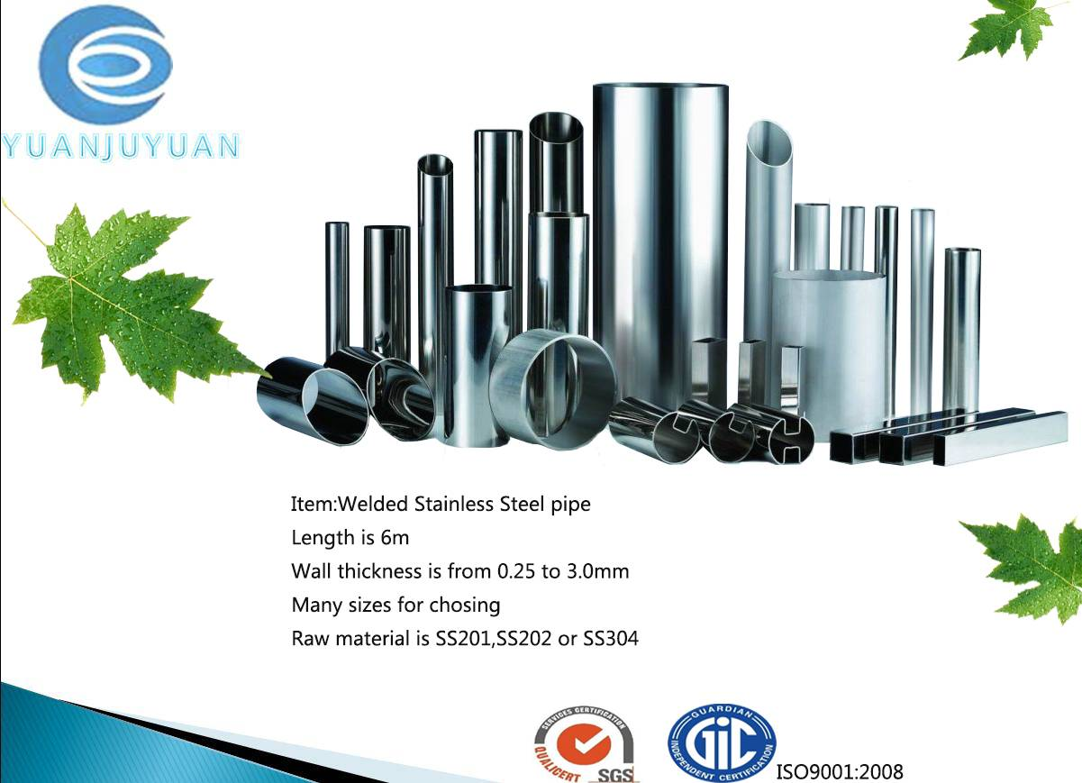 stainlesss steel pipe
