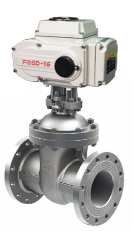 Elecrtic Hard Seal Gate Valve in Flange Connecting Style