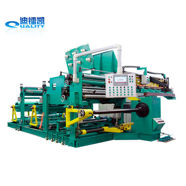 Standard reasonable structure cnc foil winding machine for distribution transformer