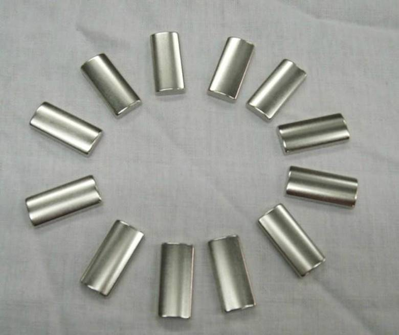 China Tile Shape Strong Magnets for Motor