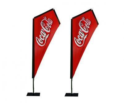 Outdoor flag, Kite Flag Banner, beach flag china