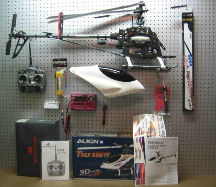 RTF ALIGN T-Rex 600 CF RC Helicopter