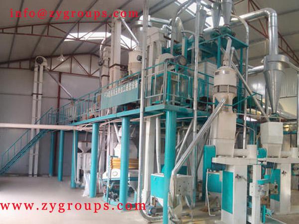 rice flour processing machine corn flour processing machine maize flour processing machine
