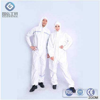 Safety Disposable Microporous Coverall