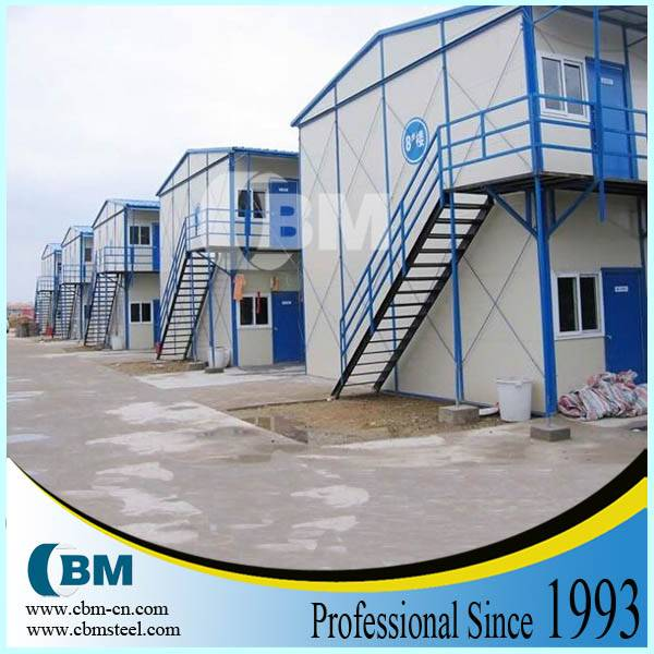 Low cost prefabricated house for construction site dormitory