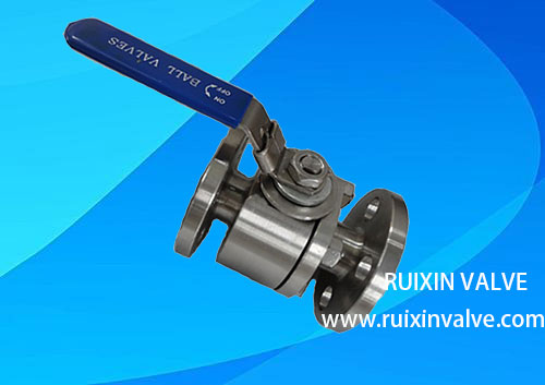 Forged Floating Stainless Steel Top Manufacturer Ball Valve