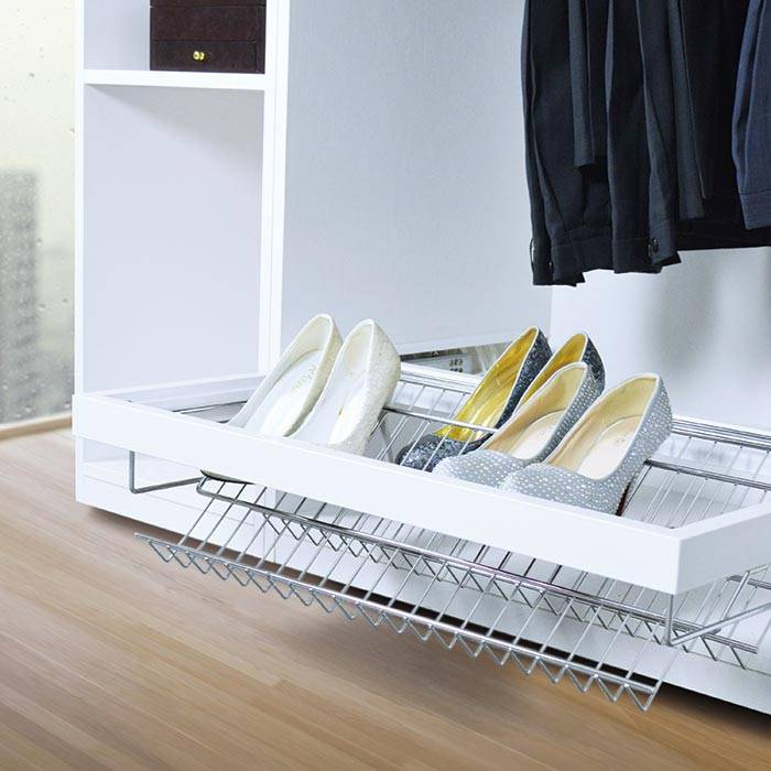 Soft Close Pull Out Shoes Rack
