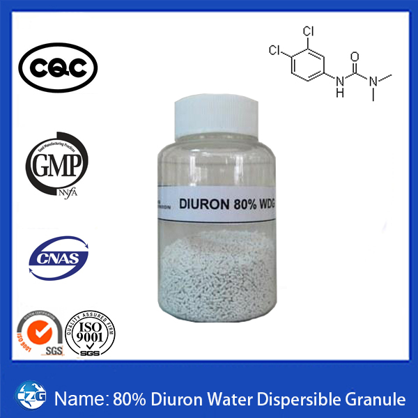 80% Fast Effect 330-54-1 Agrochemical Herbicide Wp Diuron