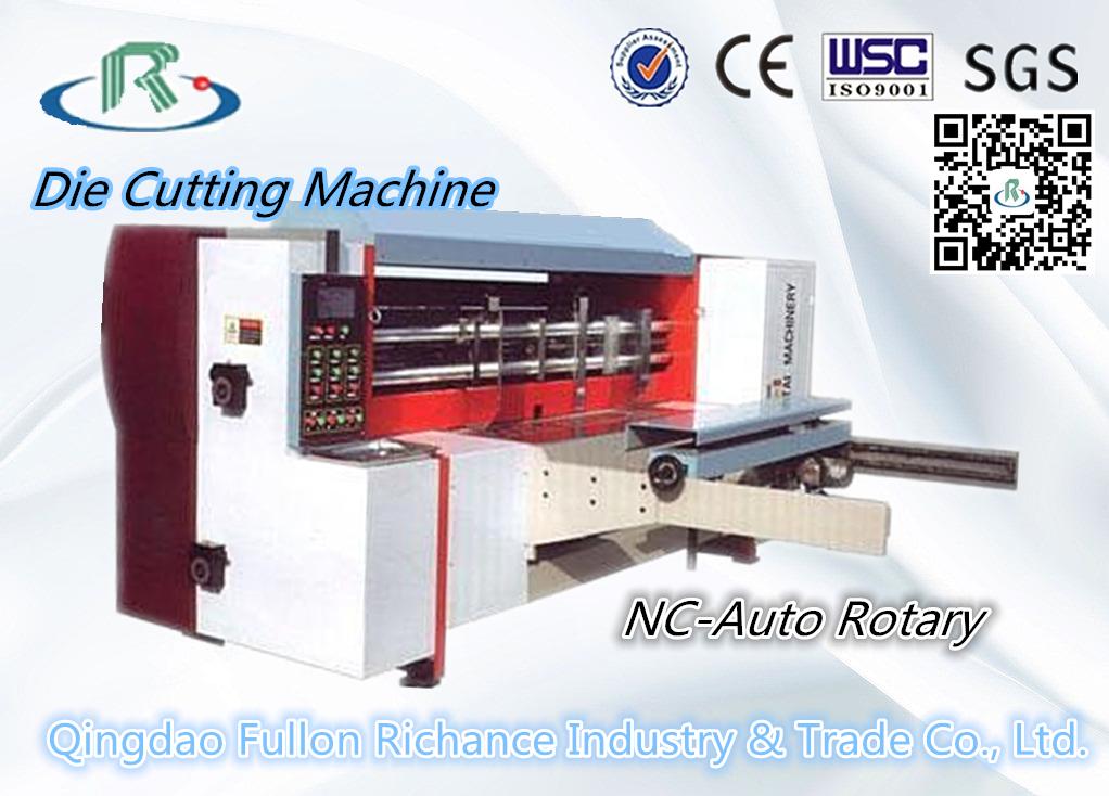 QM Series Lead Edge Feeding Nc-Auto Rotary Die-Cutting Machine