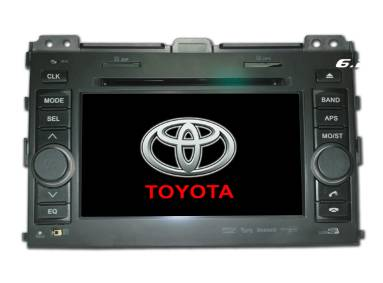 "2 din 7"" touch screen car dvd GPS Bluetooth Toyota Prado HD5016"