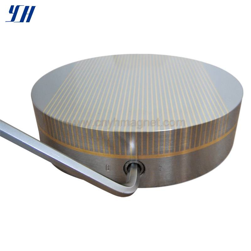 Fine Pole Round Permanent Magnetic Chuck for Grinding
