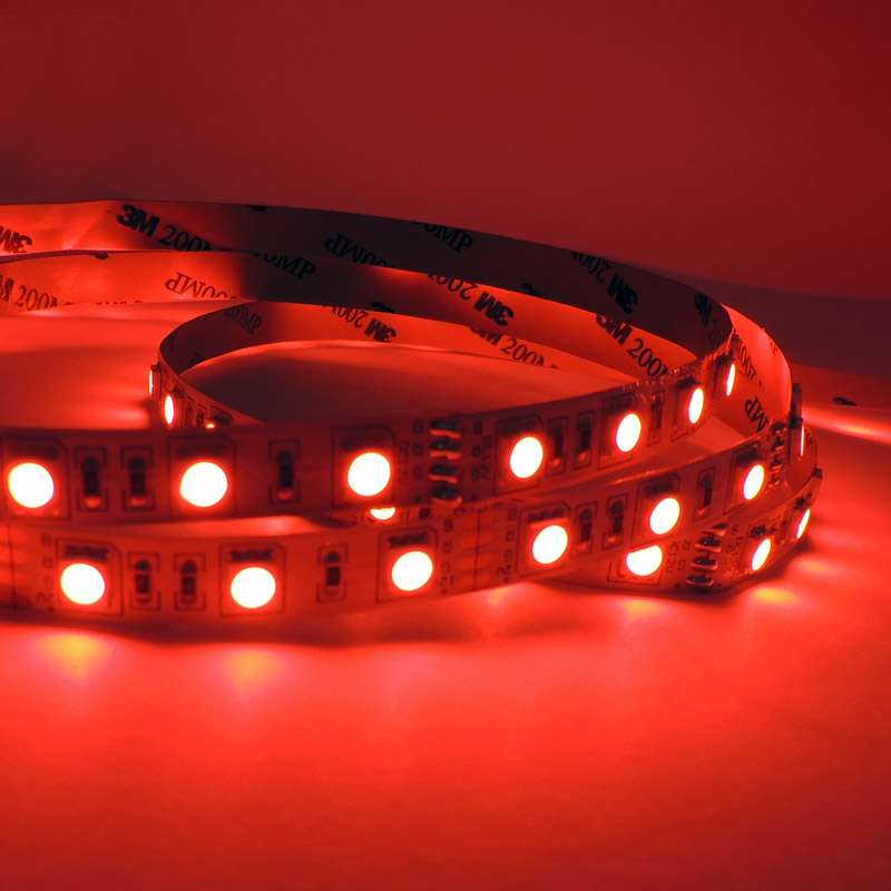16.4ft SMD5050 LEDs Flexible Strip Lights 12V Home Garden Kitchen Bar Party Christmas Holiday