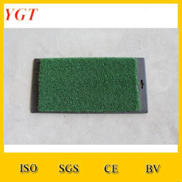 synthetic grass golf course golf putting mat customized