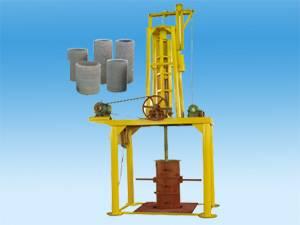 concrete vertical pipe making machine
