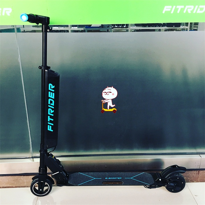 Fitrider F1 Electric Scooter Battery Can Be Quick Released Battery, Double Shock Absorber Spring