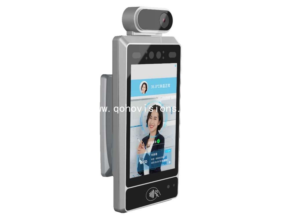 Face Recognition and Temperature Measurement Device Aisle Version