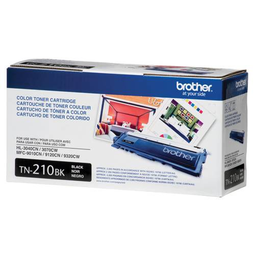 Genuine Original Brother Black Toner Cartridge Brother TN210BK