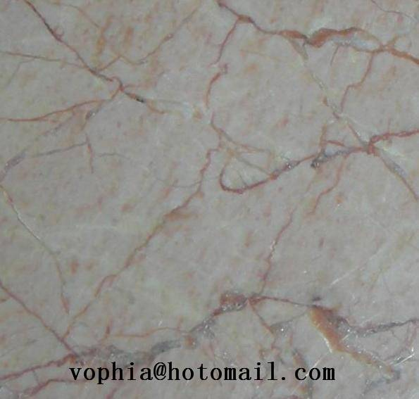 Chinese cream red marble