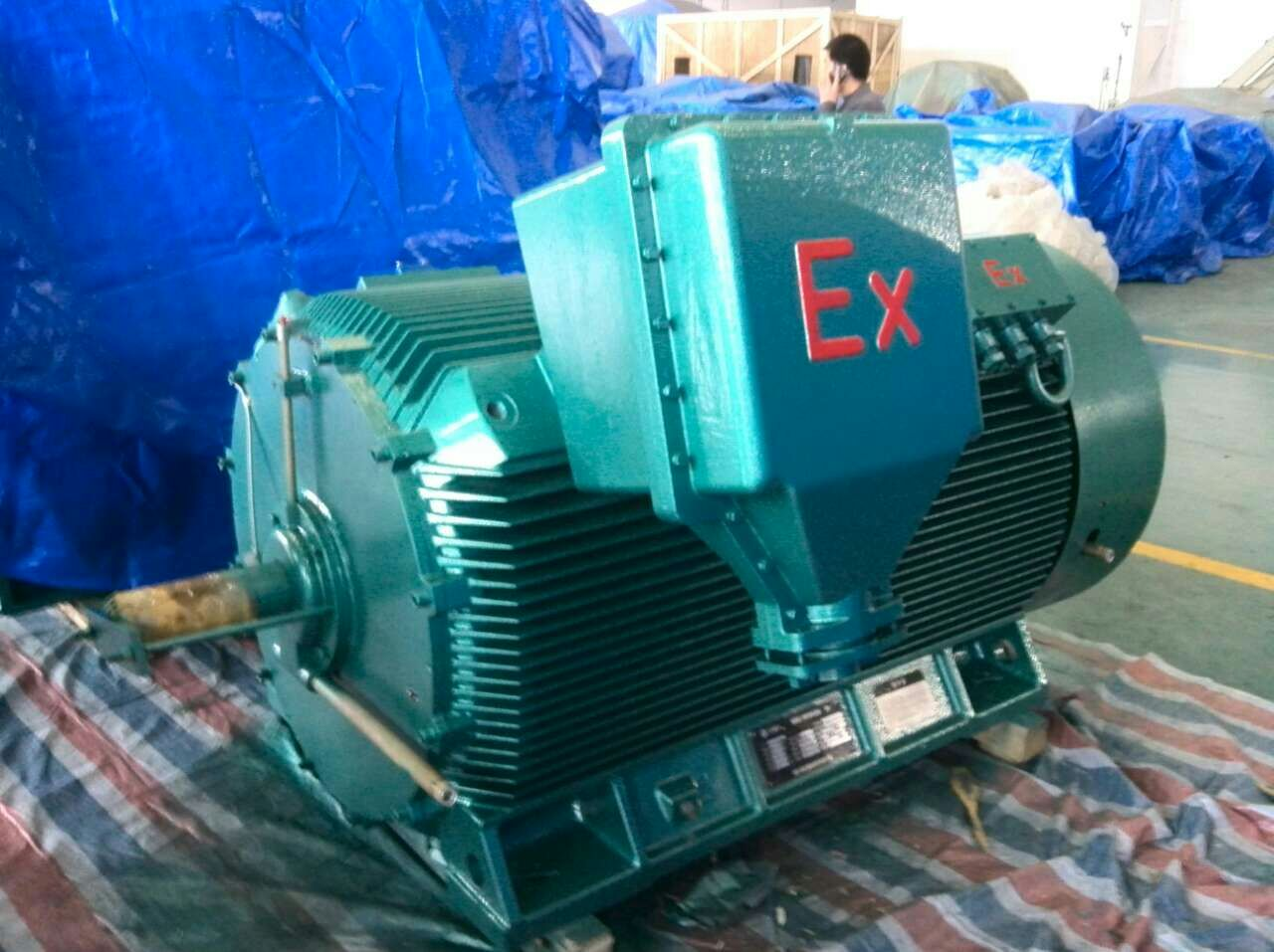 Yb2 5.5kw 8HP 4 Poles 1500 Rpm Explosion-Proof Electric Motor