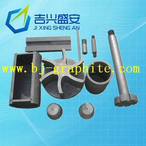 Metal purity graphite mould casting