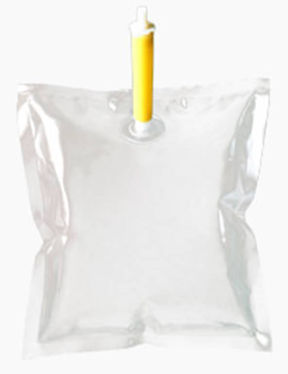 soap bag pump