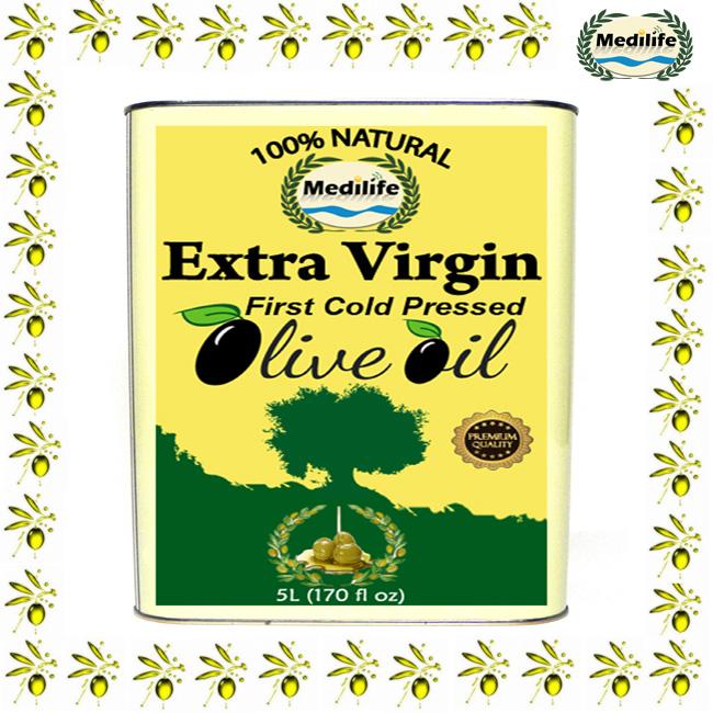Extra Virgin Olive Oil 5 L Mettalic Tin