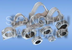 Cable fixing clamp