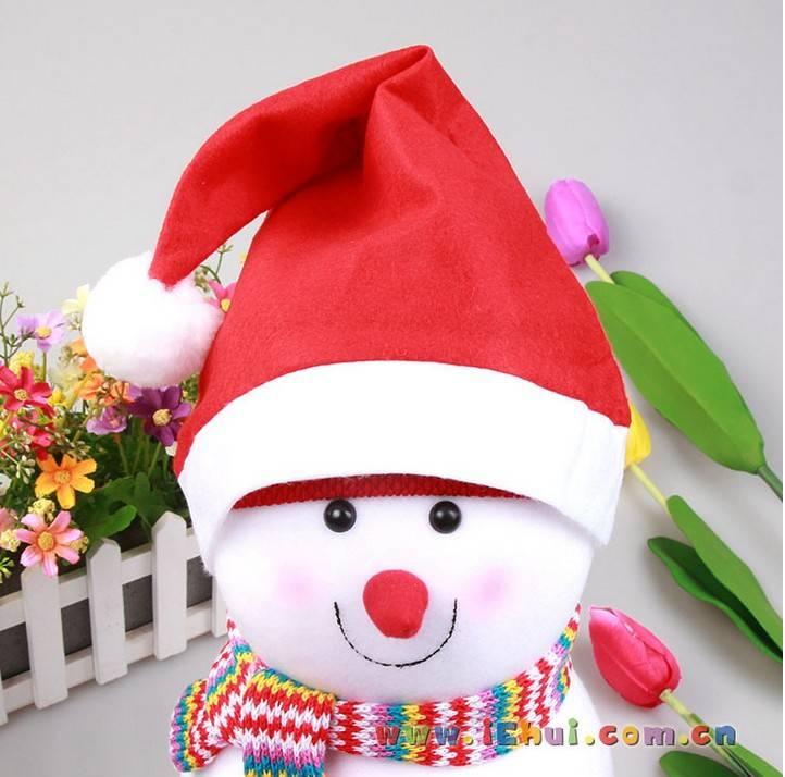 decoration christmas hat christmas fabric holidy supply