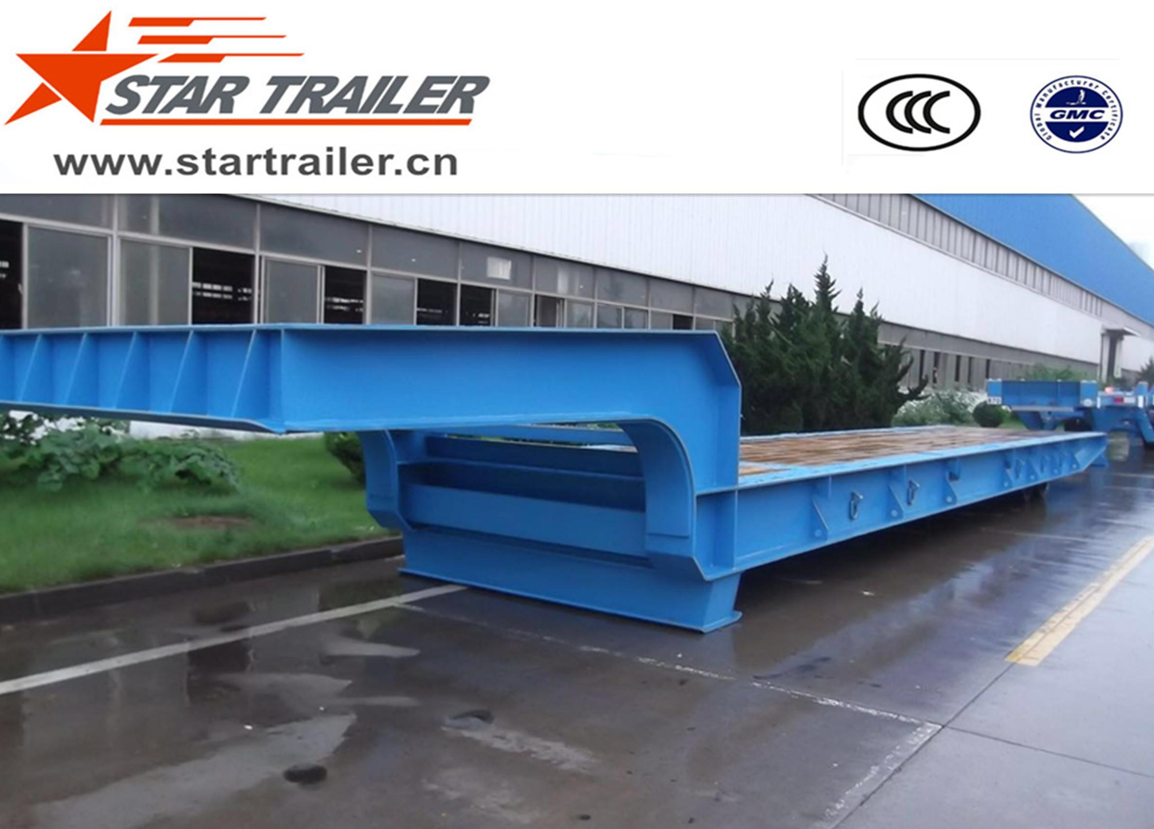 80T Terminal Transit Roller Trailer