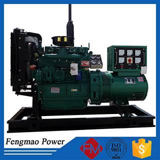 Electric start diesel power generator