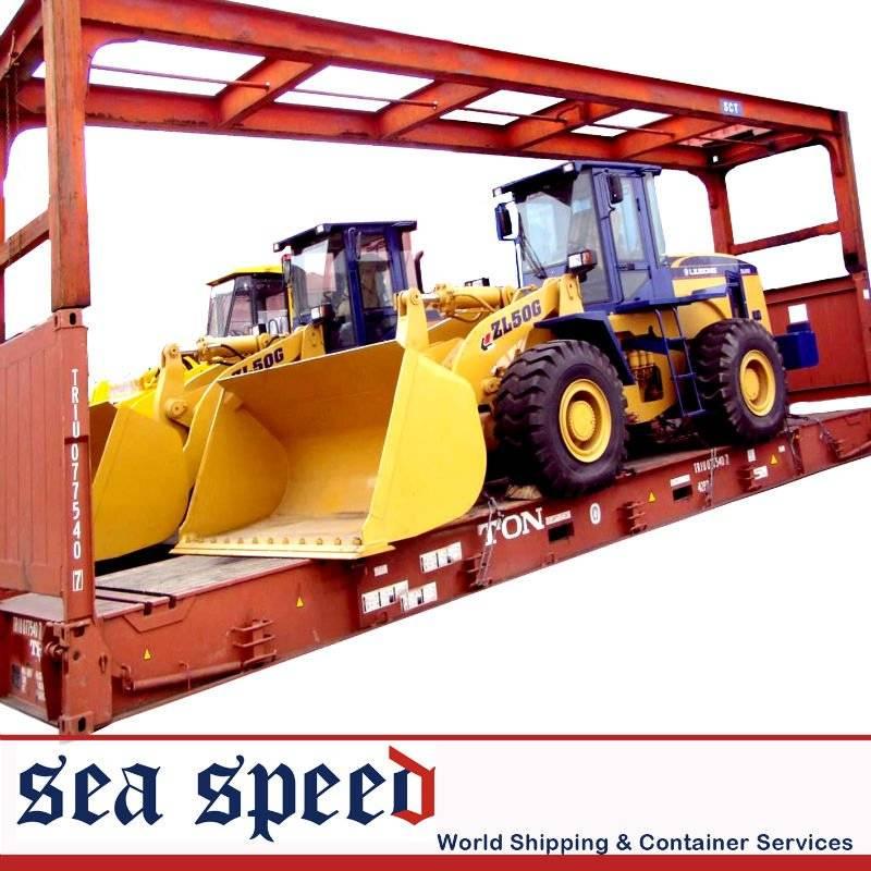 international logistics/flat rack container