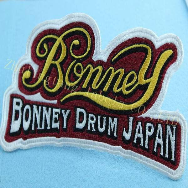 happy character embroidery patches for kids clothing