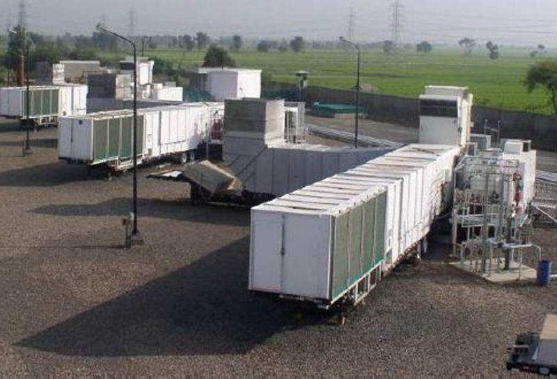30 MW GE TM2500 Mobile Gas Turbine Generators