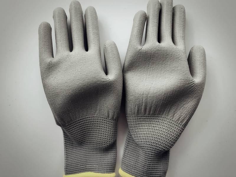 PU coated working gloves