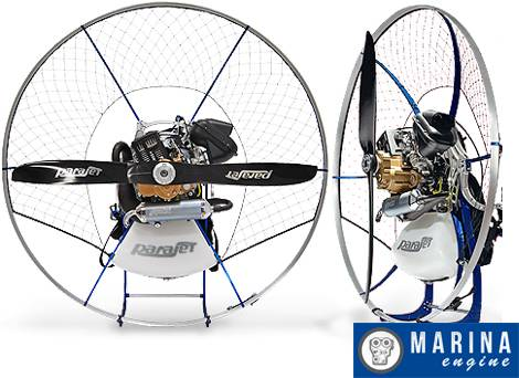 Parajet Zenith With Moster 185 Paramotor
