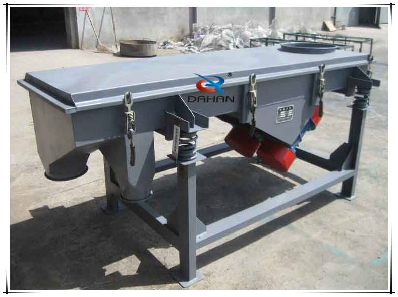 Xinxiang linear screen vibrating machine for sugar residue sieving machine