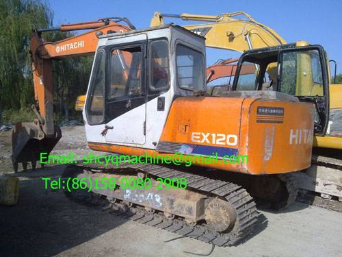 Used excavator Hitachi EX120-1