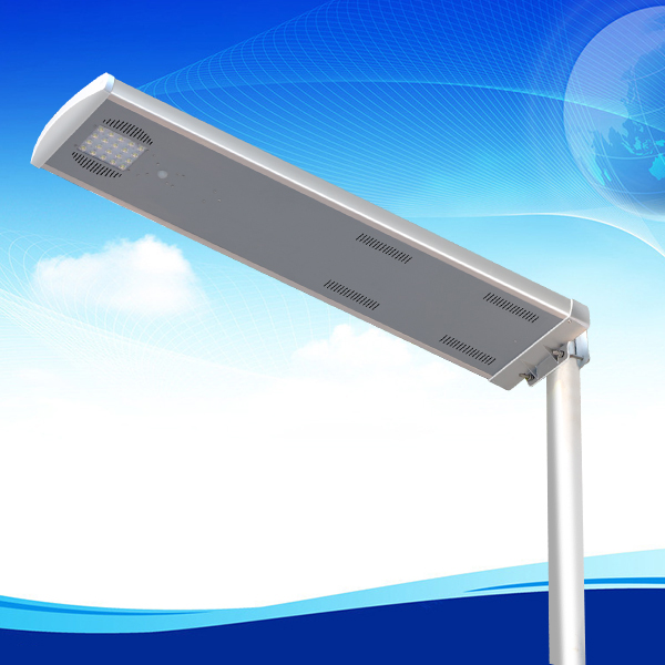 20w waterproof with PIR sensor all in one integrated solar led st