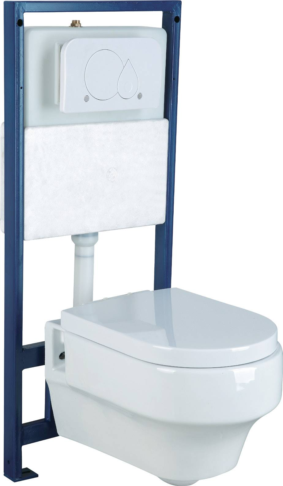 Concealed self-powered auto cistern