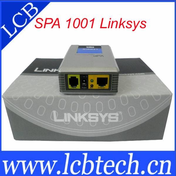 Linksys SPA1001 analog telephone adapter
