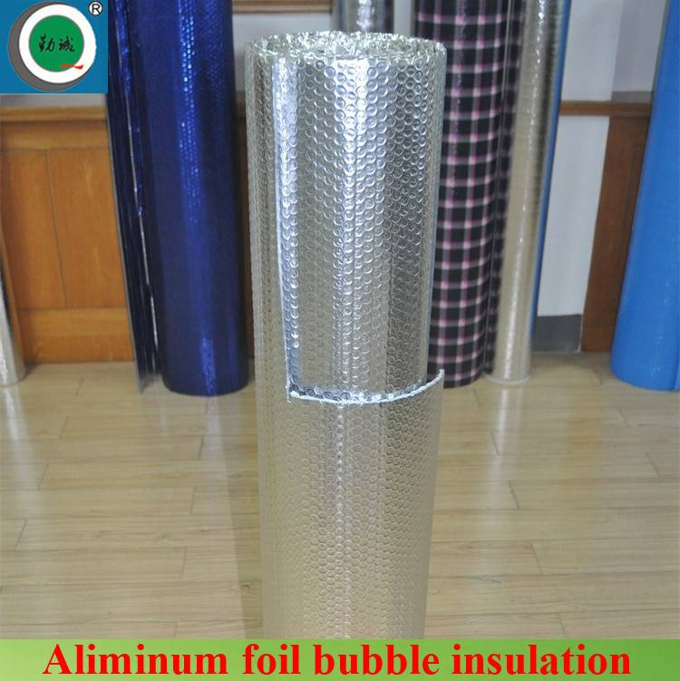 Fire-retardant double-sided reflective aluminum foil insulation